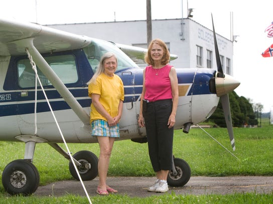 Owners Lorraine Solberg (left) and Suzanne Solberg