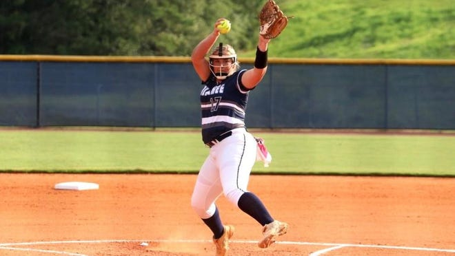 Apalachee pitcher Emily Hodnett compiled 20 strikeouts in a pair of wins, including a no-hitter against Jackson County.
