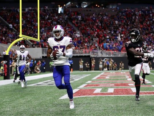 Buffalo Bills wide receiver Jordan Matthews (87) catches
