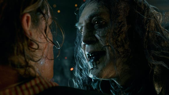 Captain Salazar (Javier Bardem) is the latest villain for Johnny Depp's eccentric Jack Sparrow in 'Pirates of the Caribbean: Dead Men Tell No Tales.'