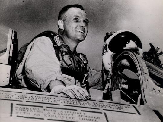 John Glenn is shown in this undated file photo.