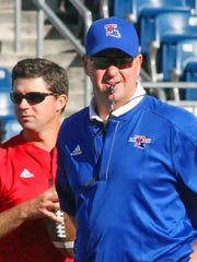 Louisiana Tech coach Skip Holtz earned C-USA Coach