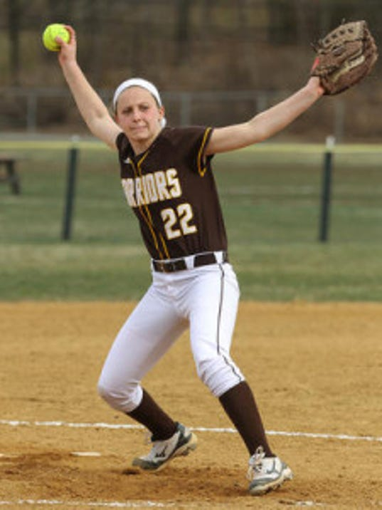 Sophomore Alyssa Murray delivered a 3-run homer during Watchung Hills 7-4 victory over Westfield in Tuesday's sectional semifinals (FILE PHOTO)