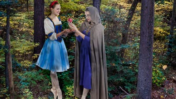 "Eastern Shore Ballet Theater presents ""Snow White"" on April 9 in Ocean City, Maryland."