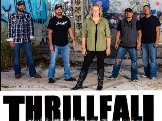 Thrillfall has an 8 p.m. Friday show at Cartoons, 1614