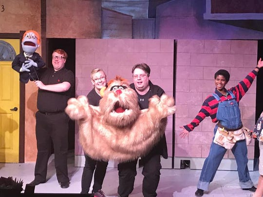 "Backdoor Theatre brings ""Avenue Q"" to the stage. Performing"