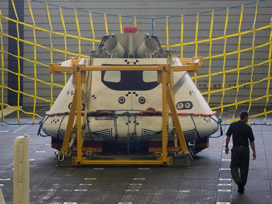 NASA Orion Spacecraft Recovery Test