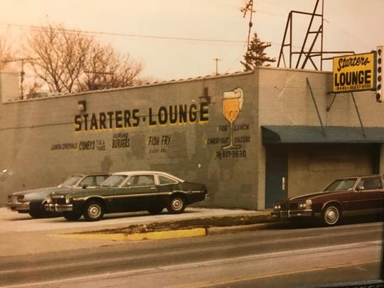 The original Starter's on Plymouth Road in Detroit circa 1988.