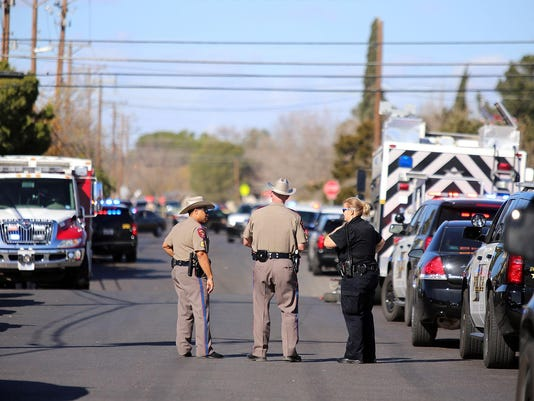 Officers Shot Texas