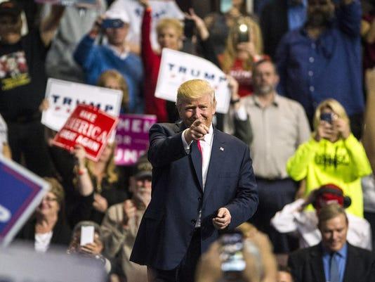 News: Donald Trump Rally in Hershey, PA