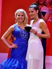 "Miss Door County's Outstanding Teen Sophia Pollman won the ""spirit award"" during the Miss Wisconsin pageant June 18-22."