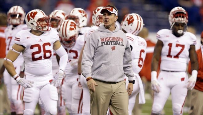 Coach Gary Andersen and the Wisconsin Badgers hope to regroup from Saturday's 59-0 loss to Ohio State in the Big Ten Conference championship   in Indianapolis.