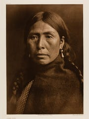 This picture of an unnamed Native-American was taken