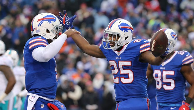 LeSean McCoy was the Bills' most valuable player as he rushed for 1,267 yards and scored 14 touchdowns.
