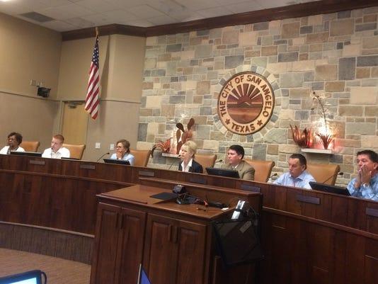 San Angelo City Council final budget workshop