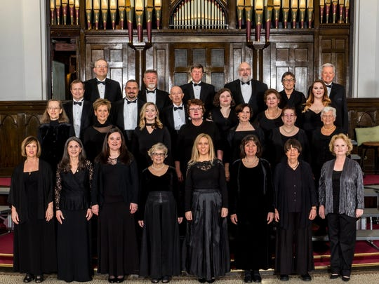 The York Symphony Chamber Singers will perform Sunday