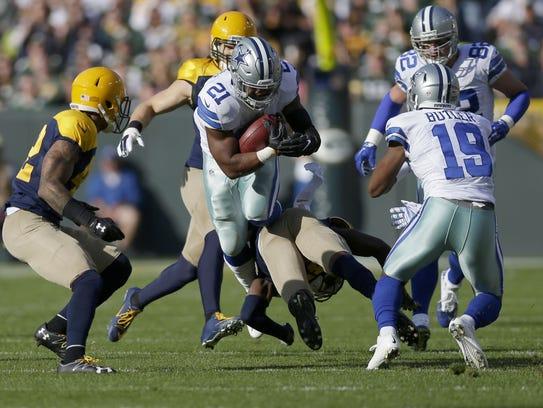 PACKERS17 PACKERS  - Dallas Cowboys running back Ezekiel