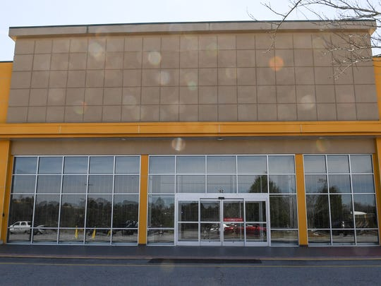 The space at 162 Anderson Station Drive in Anderson was HHgregg for several years, but is now vacant.