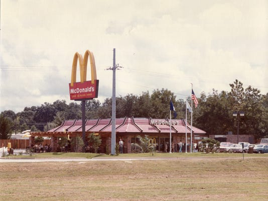 First McDonald's in Lafayette