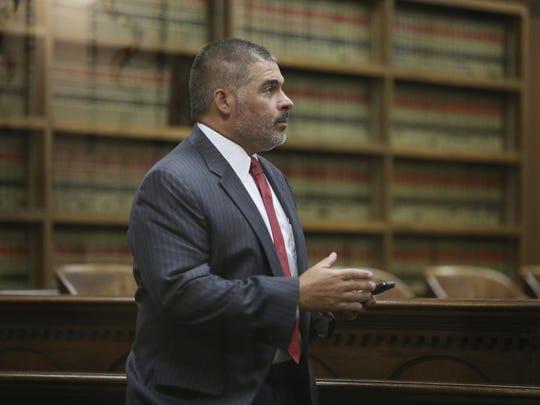 McLennan County District Attorney Abelino Reyna.