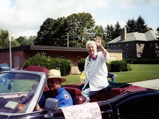 Emeline Dence was named the Spencer Senior Citizen