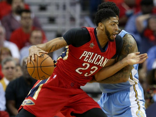 USP NBA: DENVER NUGGETS AT NEW ORLEANS PELICANS S BKN USA LA