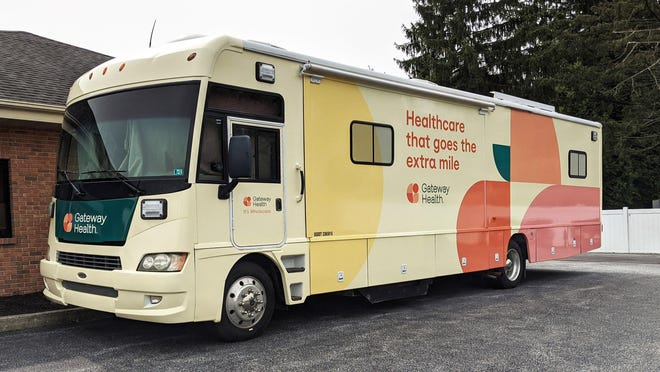 Gateway Health's mobile Wholecare Tour will make stops in Erie and Union City this Saturday through Monday.