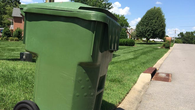Trash collection won't be impacted in most areas because of Good Friday.