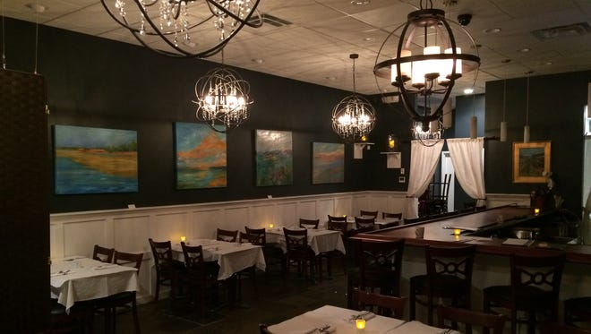 The interior of Anea Bistro in Montgomery