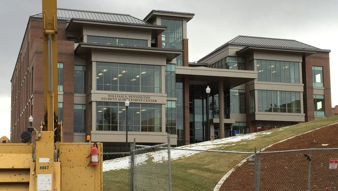 UNR's Pennington Student Achievement Center to open in February.