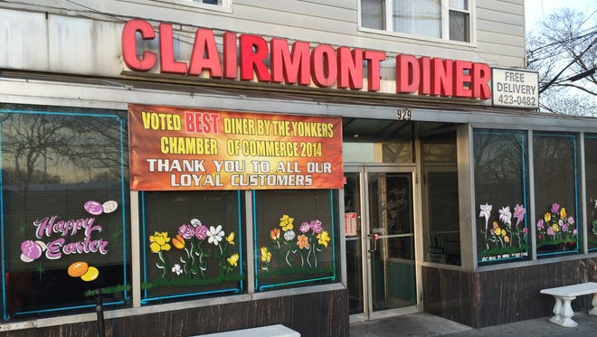 The Clairmont Diner in Yonkers on March 30, 2016.