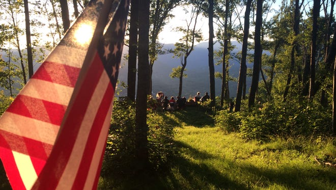 Watching the July 4 fireworks from Sunset Mountain, an easy hike from Black Mountain, is an annual tradition for many.
