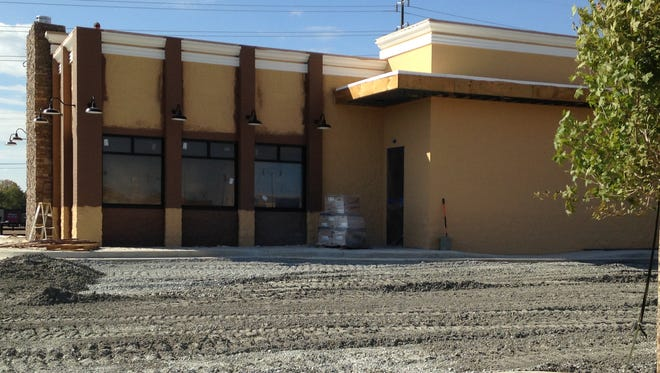 Construction on a new Jack's Family Restaurant, a fast-food chain, continues at 157 Parkstone Place (Park Place East).