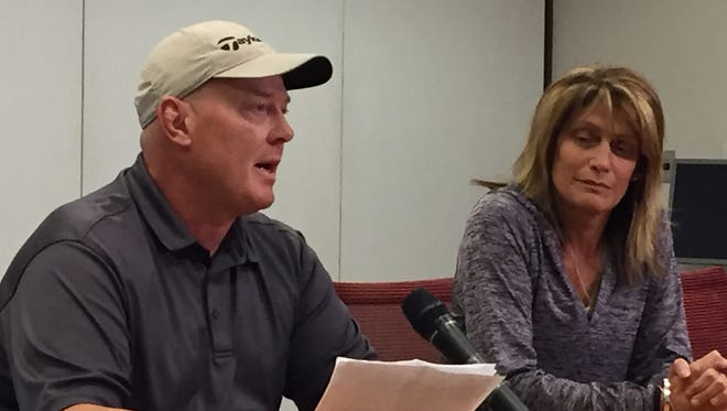 George and Kim Custer, parents of Ryan Custer, provide an update on their son's condition.
