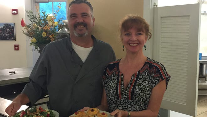 Sealantro's CEO and Executive Chef is Michael Clifford, a Vero Beach native, and Jayne Withers McAllister, an integrative nutrition health coach and author, are bringing Sealantro to McKee Botanical Garden's Cafe.