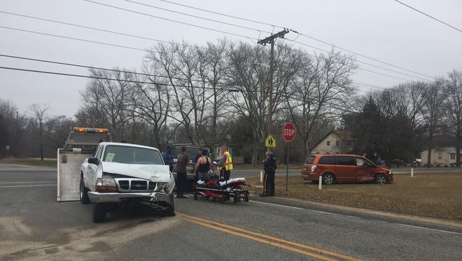 Vineland Police issued a Bridgeton woman a failure to stop summons after a three-vehicle collision March 28 at West Avenue and Forest Grove Road.