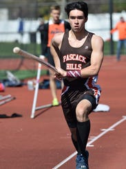At the NJSIAA Group 1 track and field championships