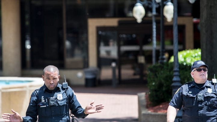 Man charged in connection with shooting at Sheraton Downtown