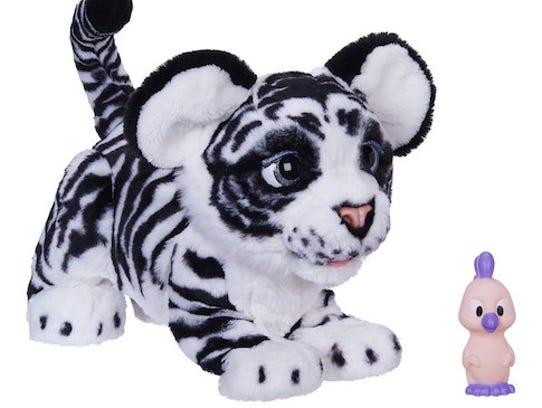 Fur Real white tiger