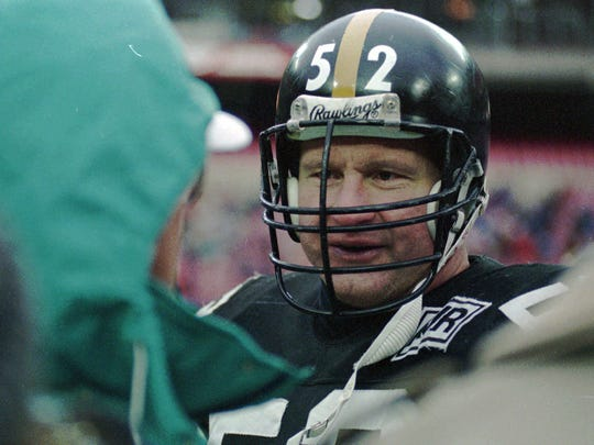 Steelers Hall of Fame center Mike Webster was the first