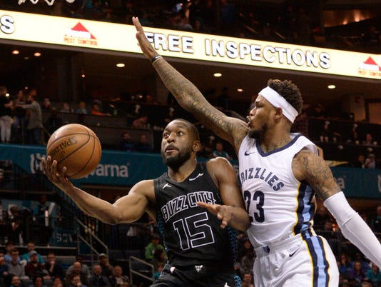NBA: Memphis Grizzlies at Charlotte Hornets
