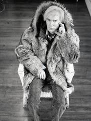 Michael Childers took this photo of Andy Warhol in