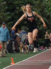 St. Cloud Tech senior Jodi Lipp took third in the Class 2A triple jump Saturday at Hamline University.