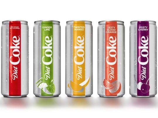Diet Coke Rebranding