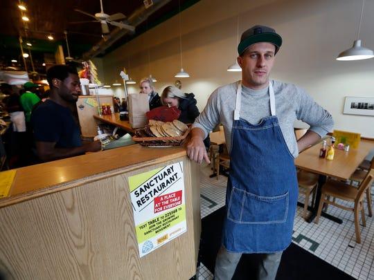 Ben Hall, propietario del restaurante Russell Street