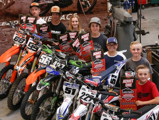 Six local southern Utah riders and one alternate will