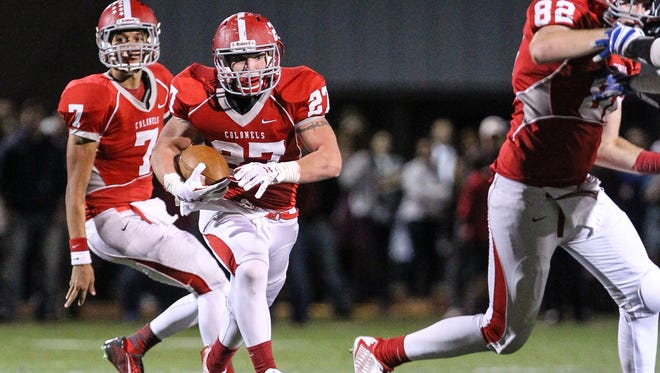 Dixie Heights running back Luke Zajac