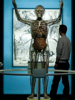 Exhibit in Pittsburgh in 2007 traces eugenics' development.