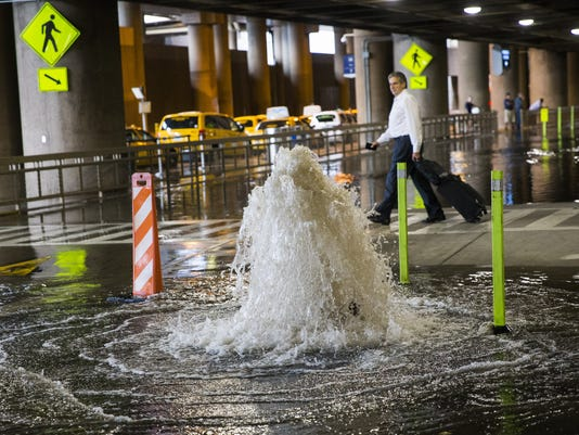 Sky Harbor flooding