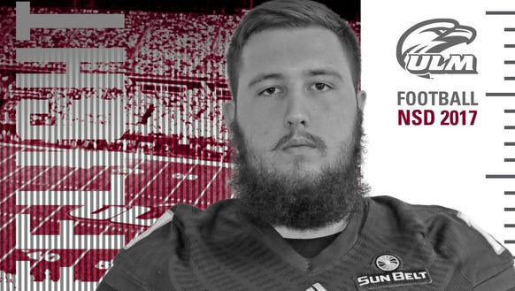 Ellison transferred from Texas Tech to ULM over the